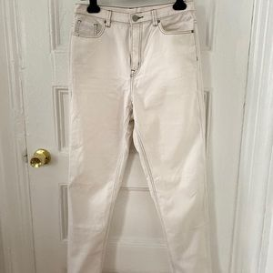 White Mom Jeans s 29 (BDG)